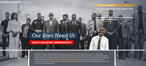 Our Boys Need Us Website